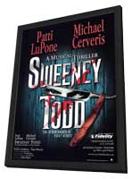Sweeney Todd (Broadway) - 27 x 40 Poster - Style B - in Deluxe Wood Frame