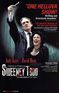 Sweeney Todd (Broadway) - 27 x 40 Poster - Style A
