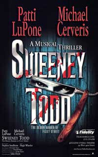 Sweeney Todd (Broadway) - 27 x 40 Poster - Style B