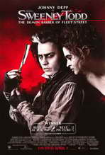Sweeney Todd: The Demon Barber of Fleet Street - 27 x 40 Movie Poster - Style D