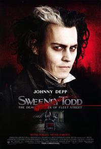 Sweeney Todd: The Demon Barber of Fleet Street - 11 x 17 Movie Poster - Style C
