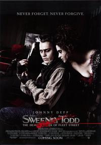 Sweeney Todd: The Demon Barber of Fleet Street - 43 x 62 Movie Poster - Bus Shelter Style E