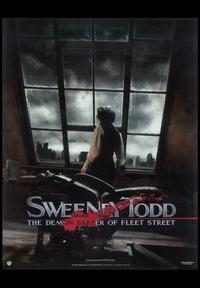 Sweeney Todd: The Demon Barber of Fleet Street - 11 x 17 Movie Poster - Style D