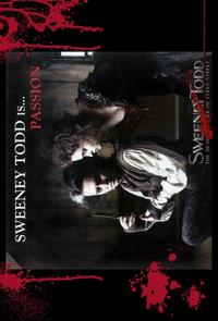 Sweeney Todd: The Demon Barber of Fleet Street - 11 x 17 Movie Poster - Style F