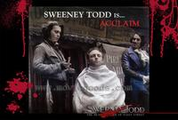 Sweeney Todd: The Demon Barber of Fleet Street - 11 x 17 Movie Poster - Style G