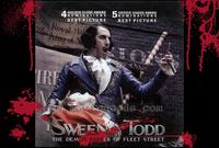 Sweeney Todd: The Demon Barber of Fleet Street - 11 x 17 Movie Poster - Style H