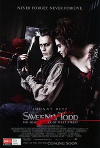 Sweeney Todd: The Demon Barber of Fleet Street - 11 x 17 Movie Poster - Australian Style A