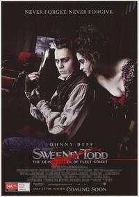 Sweeney Todd: The Demon Barber of Fleet Street - 43 x 62 Movie Poster - Bus Shelter Style F