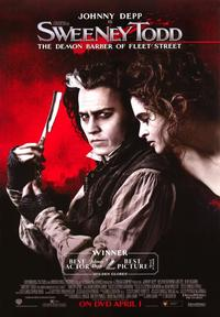 Sweeney Todd: The Demon Barber of Fleet Street - 43 x 62 Movie Poster - Bus Shelter Style D