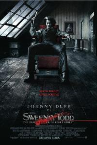Sweeney Todd: The Demon Barber of Fleet Street - 43 x 62 Movie Poster - UK Style A