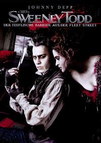 Sweeney Todd: The Demon Barber of Fleet Street - 11 x 17 Movie Poster - German Style B