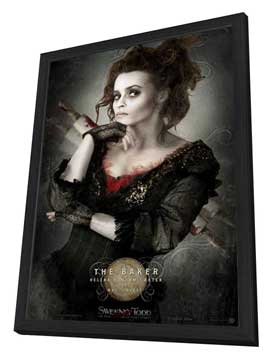 Sweeney Todd: The Demon Barber of Fleet Street - 27 x 40 Movie Poster - Style F - in Deluxe Wood Frame