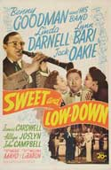 Sweet and Low-Down - 27 x 40 Movie Poster - Style A