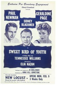 Sweet Bird Of Youth (Broadway) - 11 x 17 Poster - Style A