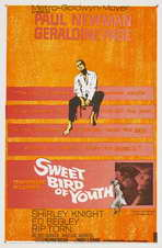 Sweet Bird of Youth - 27 x 40 Movie Poster - Style A