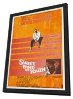 Sweet Bird of Youth - 27 x 40 Movie Poster - Style A - in Deluxe Wood Frame