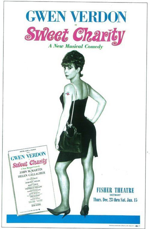 Sweet Charity Broadway Movie Posters From Movie Poster Shop
