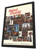 Sweet Charity - 11 x 17 Movie Poster - Style A - in Deluxe Wood Frame