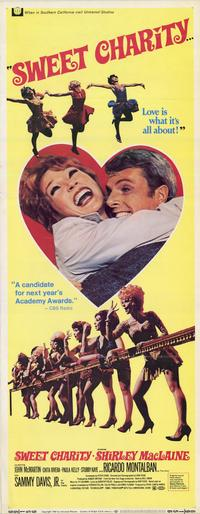 Sweet Charity - 14 x 36 Movie Poster - Insert Style A