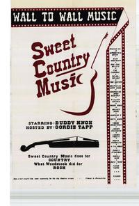 Sweet Country Music - 27 x 40 Movie Poster - Style A