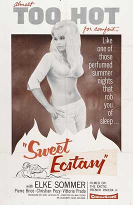 Sweet Ecstasy - 11 x 17 Movie Poster - Style A