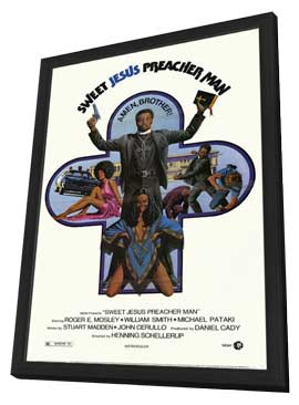 Sweet Jesus Preacher Man - 11 x 17 Movie Poster - Style A - in Deluxe Wood Frame