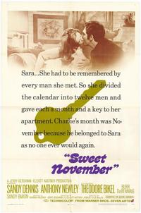 Sweet November - 27 x 40 Movie Poster - Style A