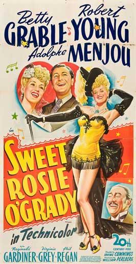 Sweet Rosie O'Grady - 11 x 17 Movie Poster - Style B