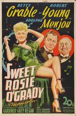 Sweet Rosie O'Grady - 27 x 40 Movie Poster - Style C