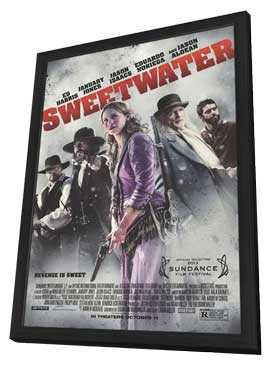 Sweetwater - 11 x 17 Movie Poster - Style A - in Deluxe Wood Frame
