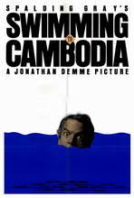Swimming to Cambodia - 27 x 40 Movie Poster - Style A
