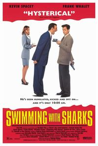 Swimming with Sharks - 27 x 40 Movie Poster - Style A