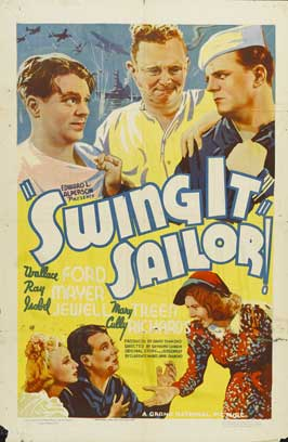 Swing It, Sailor! - 11 x 17 Movie Poster - Style A