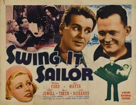Swing It, Sailor! - 22 x 28 Movie Poster - Half Sheet Style A