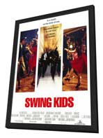 Swing Kids - 11 x 17 Movie Poster - Style A - in Deluxe Wood Frame