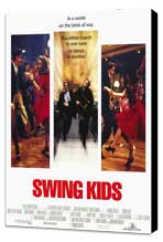 Swing Kids - 11 x 17 Movie Poster - Style A - Museum Wrapped Canvas