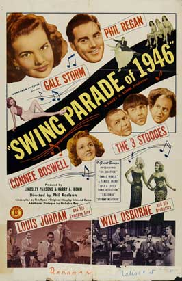 Swing Parade of 1946 - 11 x 17 Movie Poster - Style A