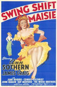 Swing Shift Maisie - 11 x 17 Movie Poster - Style A