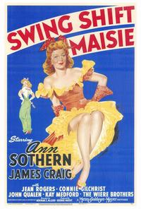 Swing Shift Maisie - 27 x 40 Movie Poster - Style A