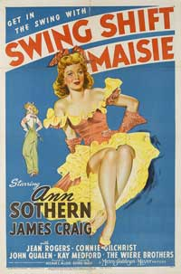 Swing Shift Maisie - 11 x 14 Movie Poster - Style A
