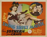 Swing Shift Maisie - 11 x 14 Movie Poster - Style B