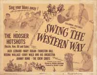 Swing the Western Way - 11 x 14 Movie Poster - Style A