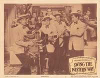 Swing the Western Way - 11 x 14 Movie Poster - Style G