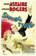 Swing Time - 11 x 17 Movie Poster - Style A
