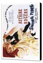 Swing Time - 27 x 40 Movie Poster - Style B - Museum Wrapped Canvas