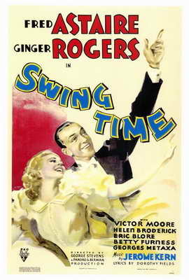 Swing Time - 27 x 40 Movie Poster - Style A