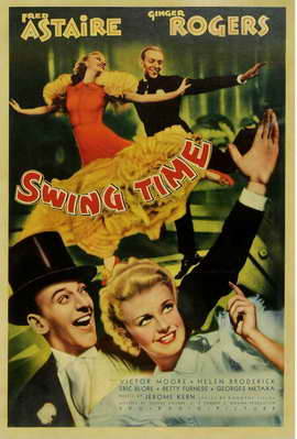 Swing Time - 11 x 17 Movie Poster - Style B
