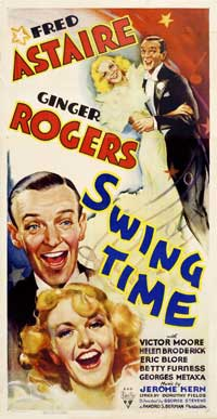 Swing Time - 14 x 36 Movie Poster - Insert Style A
