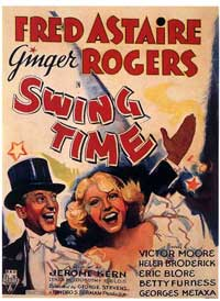 Swing Time - 11 x 17 Movie Poster - Style C