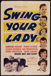 Swing Your Lady - 27 x 40 Movie Poster - Style A